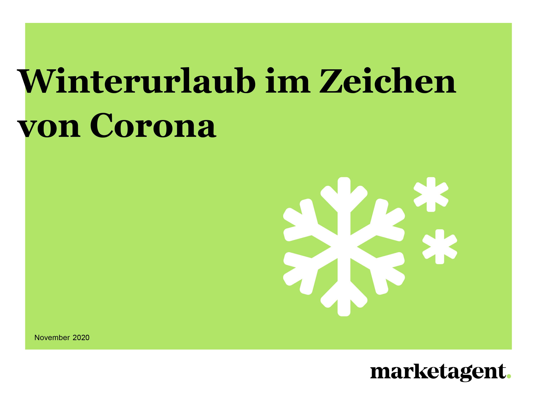 Winterurlaub in Zeichen von Corona