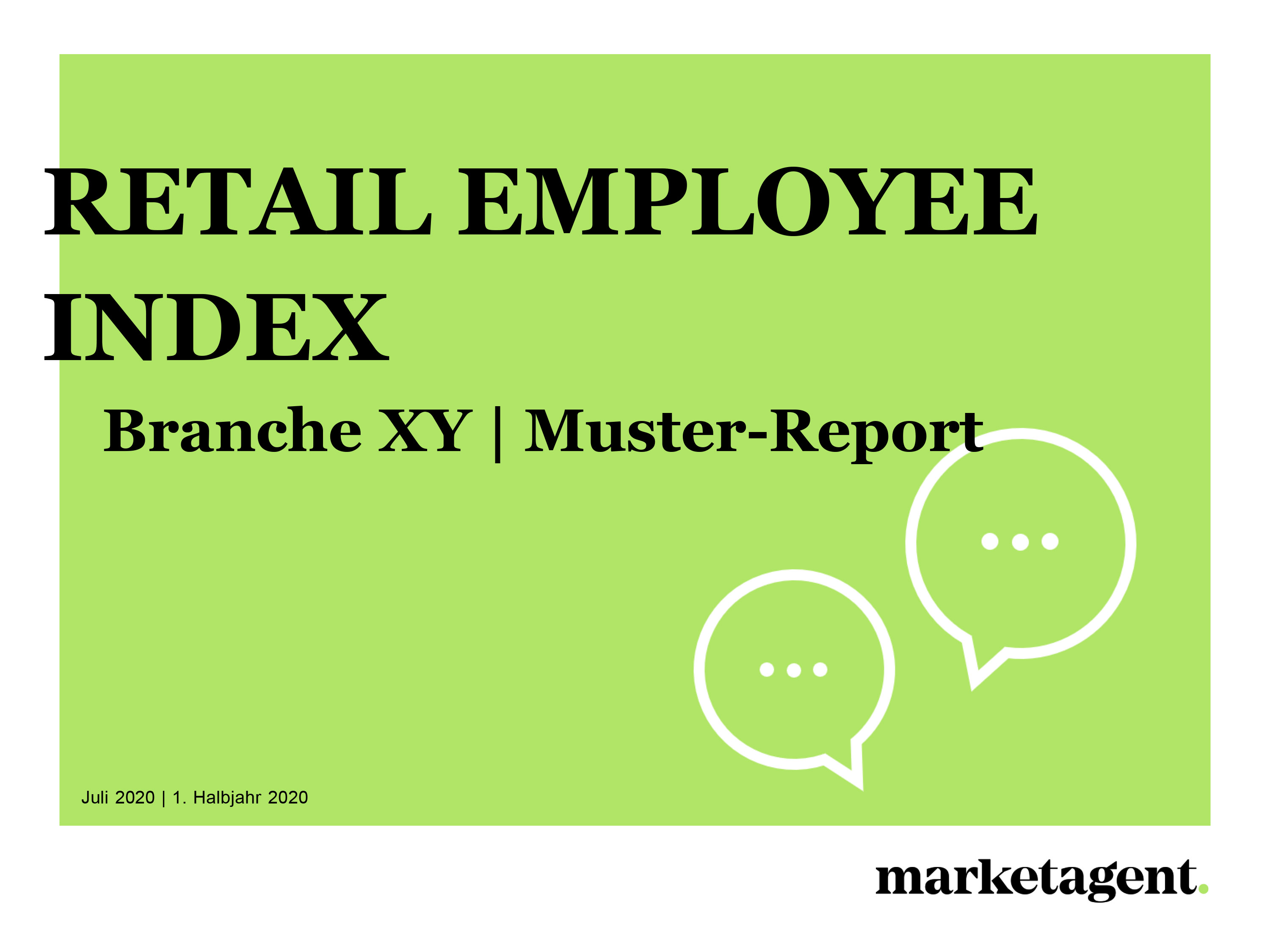 Muster-Report Retail Employee Index