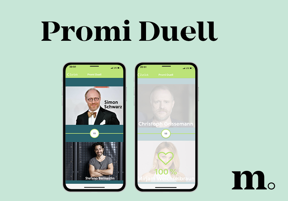 Neues Smartphone Tool: Promi Duell