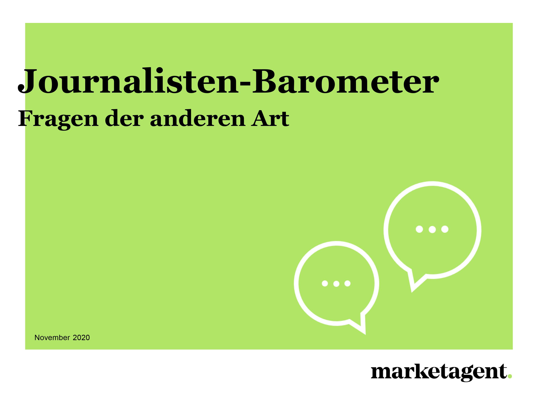 Journalisten Barometer der anderen Art