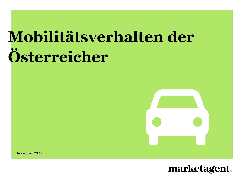 Mobilitätsverhalten der Österreicher