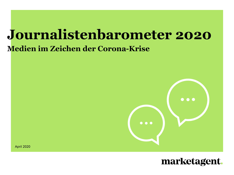 Journalistenbarometer