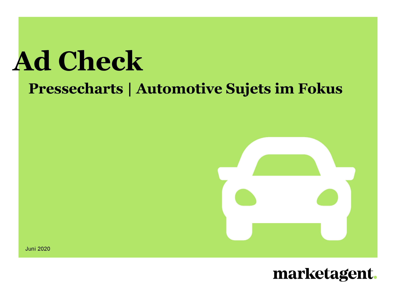 Ad Check: Automotive Sujets im Fokus