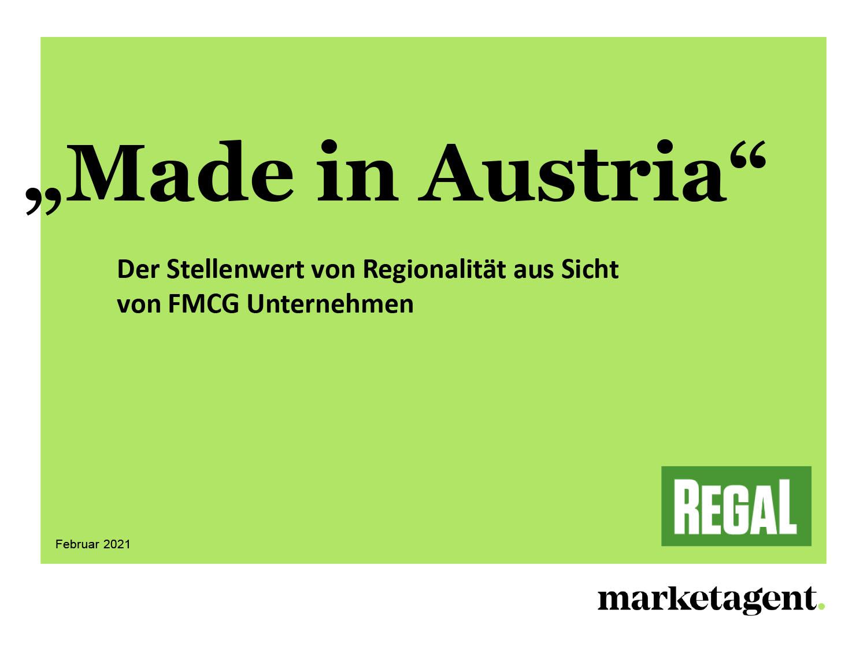 Regionalität aus Sicht der FMCG Branche