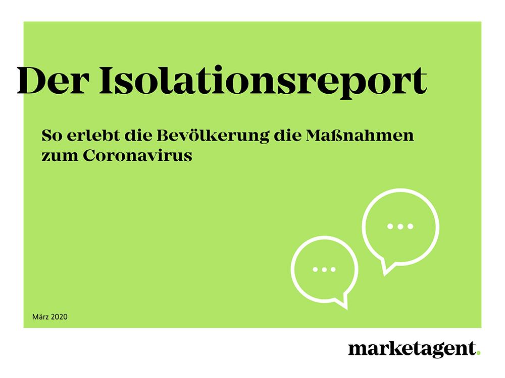 Isolationsreport