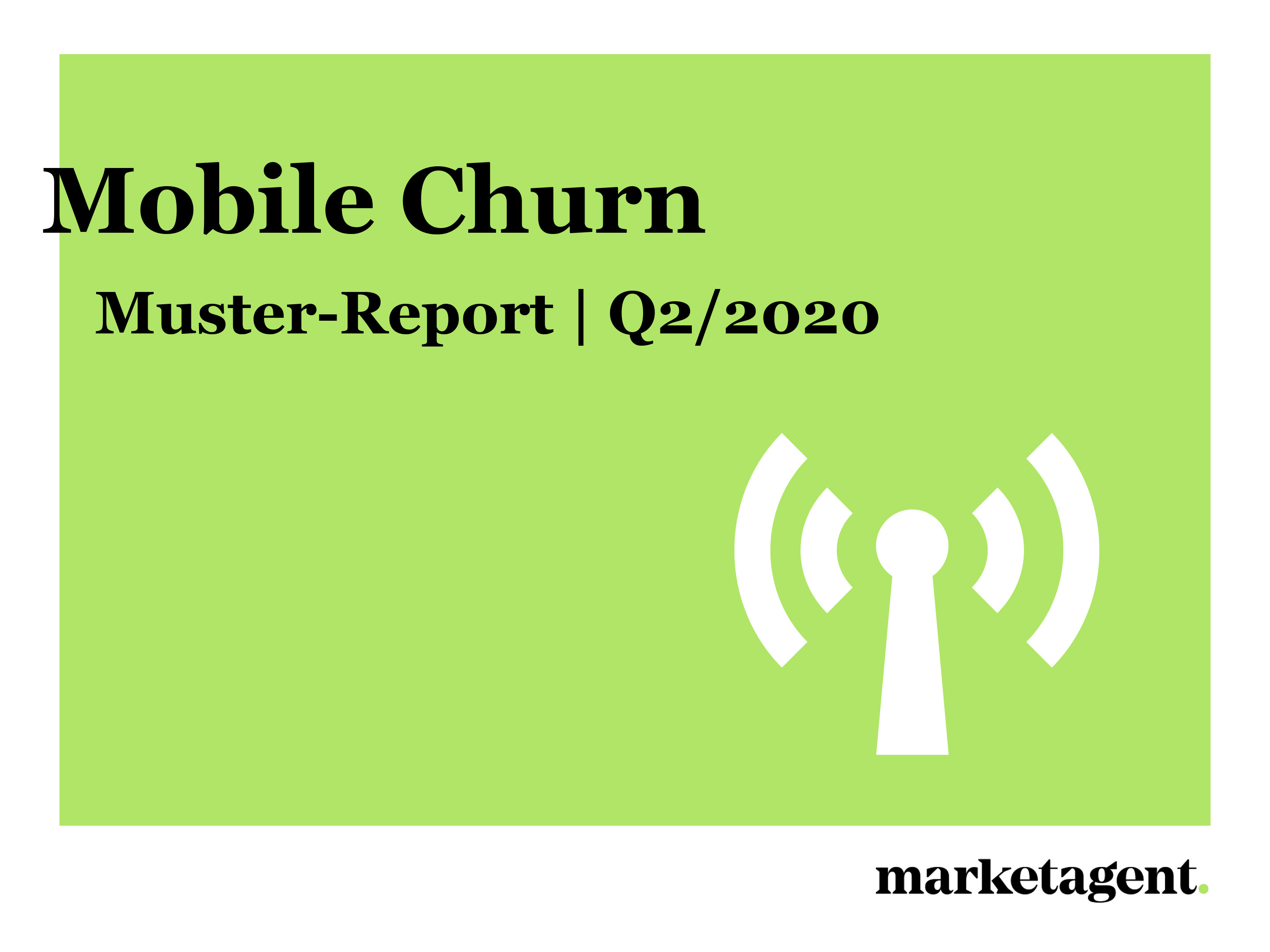 Muster-Report Mobile Churn