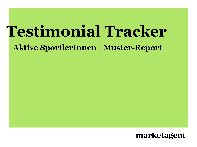Muster-Report Testimonial Tracker