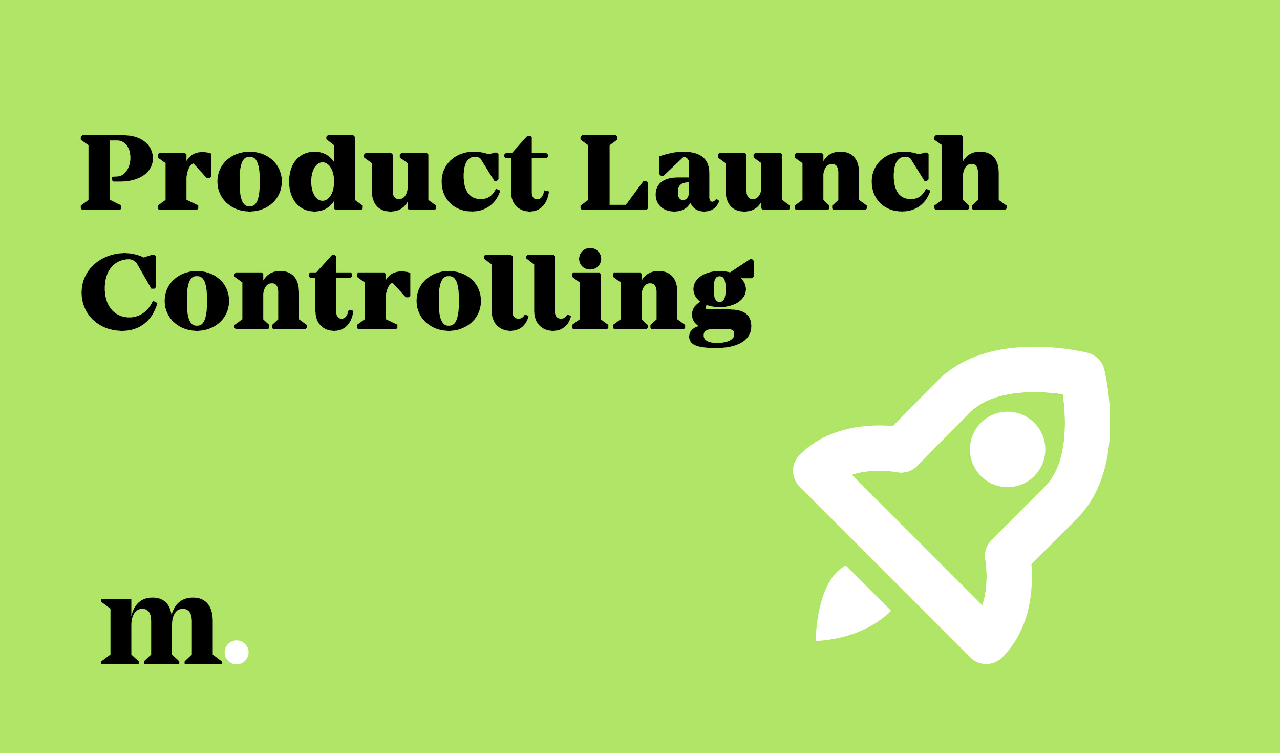 marketagent - Product Launch Controlling